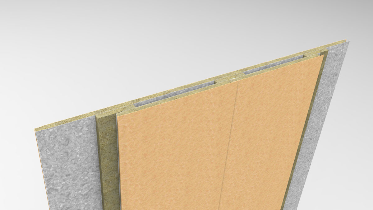 Acoustic panels B-25 45dB